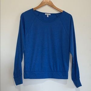 dELiA*s Blue Long Sleeved Tee Top Size Small